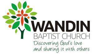 logo Wandin Baptist 9cm